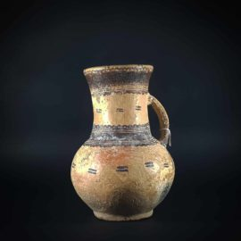 Large Islamic Mamluk Pottery Jug