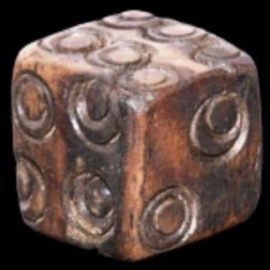 Miniature bone dice