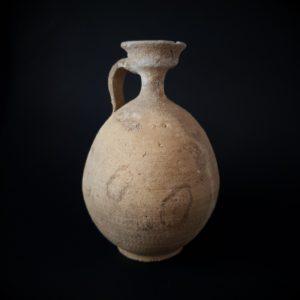 Roman Herodian Terracotta oil filler Juglet