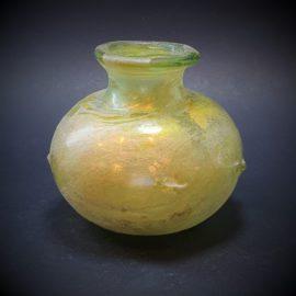 Globular Glass Jar