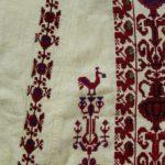 A Palestinian Thobe Abayad Dress, Ramallah