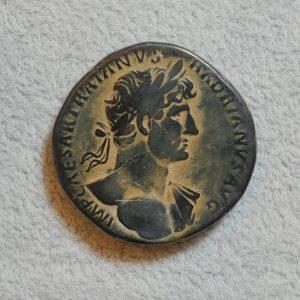 Hadrian 117-138 AD Sestertius Rome