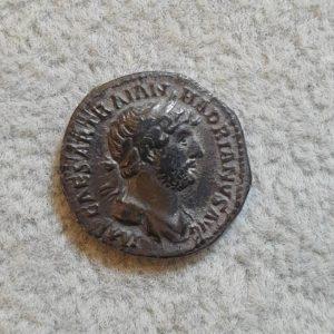 Hadrian AR Denarius Rome mint