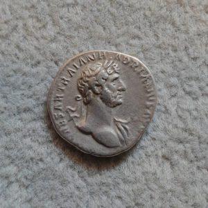 Hadrianus AR Denarius 117-138 Rome